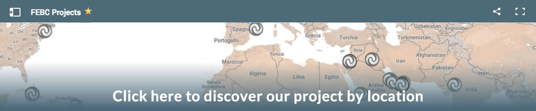 FEBC Projects by location